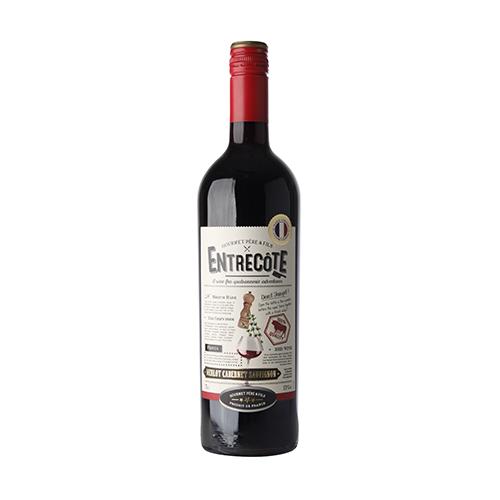 Вино Entrecote напівсухе червоне 0,75л