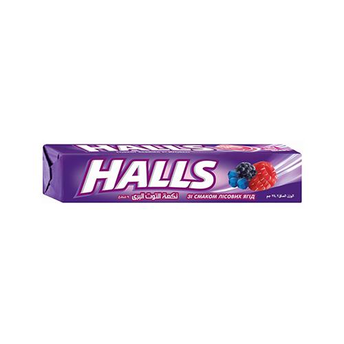 Льодяники Halls лiсовi ягоди 25,2г