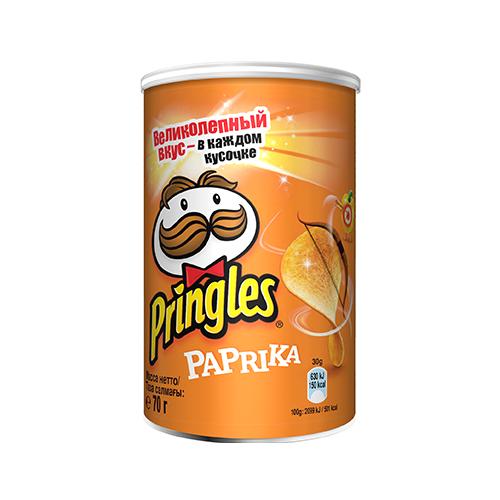 Чiпси Pringles Паприка 70г