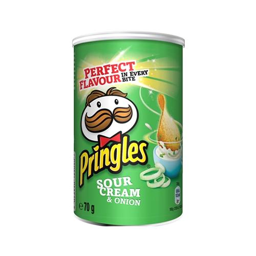 Чiпси Pringles Сметана-цибуля 70г