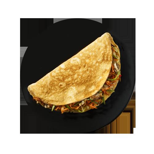 Тайський омлет з куркою і овочами (230г)