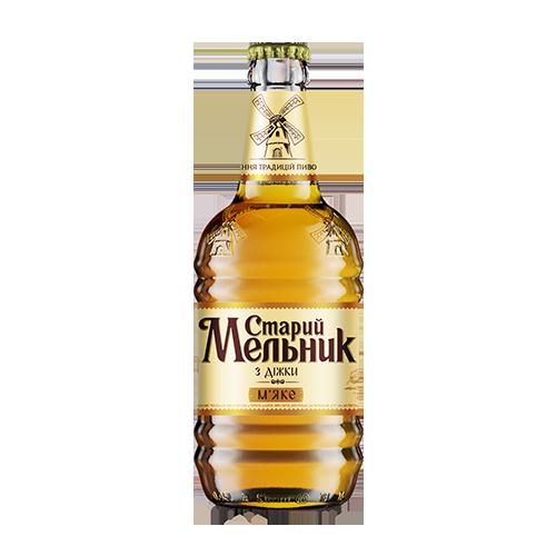 Пиво Старий Мельник Мяке 0,45л