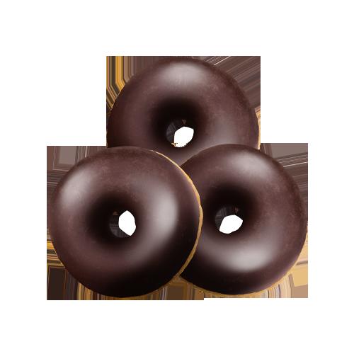 """Міні-донати з начинкою """"Шоколадні"""""""