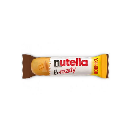 Вафлі з шоколадно-горіховою начинкою Nutella B-ready 22г