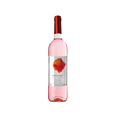 Вино Cantinas del Campo рожеве напівсухе 0,75л