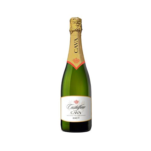 Вино ігристе Cava Brut Castelfino 0,75л