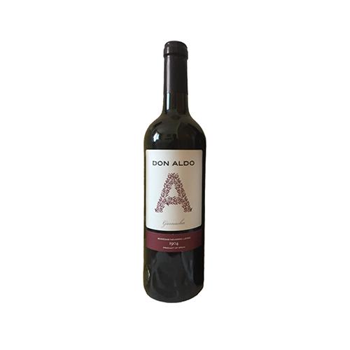Вино Don Aldo Garnacha Valdepen червоне сухе 0,75л