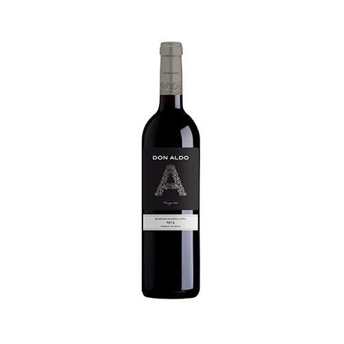 Вино Don Aldo Crianza Valdepen червоне сухе 0,75л