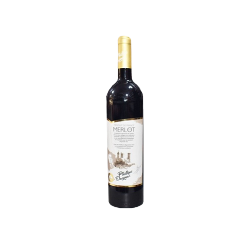 Вино Phillipe Daynac Merlot червоне сухе 0,75л