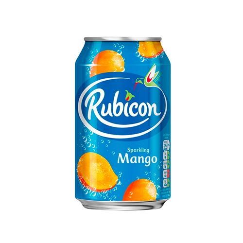 Б/а напій Rubicon з соком манго 0,33л