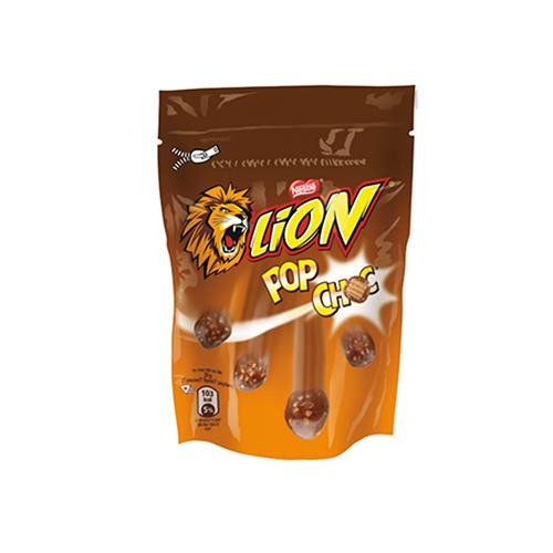 Хрусткі вафельні кульки  Lion Pop Choc 140г