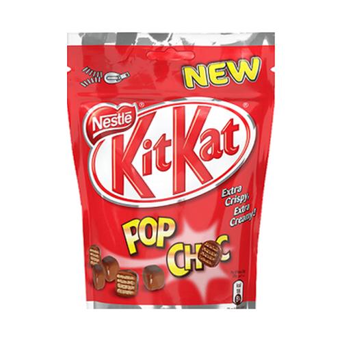 Хрусткі вафельні кульки Kit Kat Pop Choc 140г