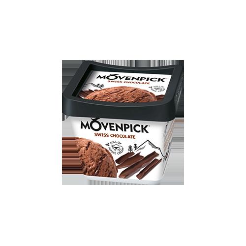 Морозиво Mоvenpick Швейцарське шоколад 56г