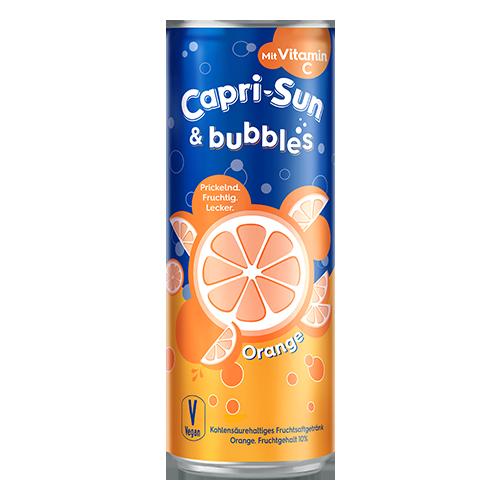 Напій газований Capri-Sun Bubbles зі смаком апельсину 330мл
