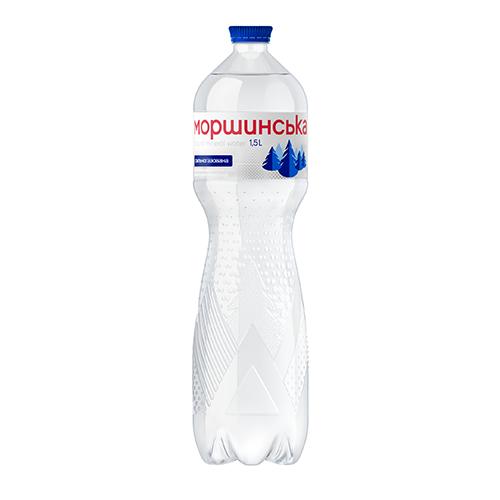 Мiнеральна вода Моршинська сильногазована 1,5л