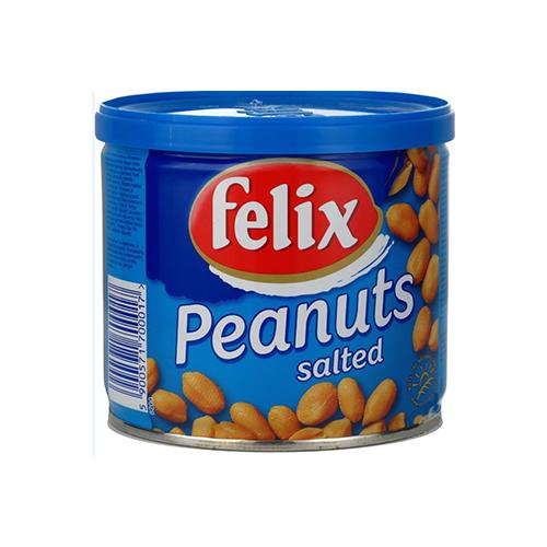 Арахiс Felix смажено-солений 120г ж/б