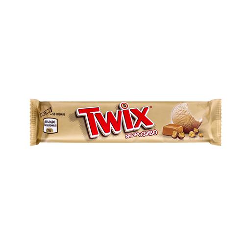 Морозиво Twix батончик 40г