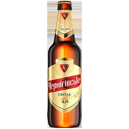 Пиво Чернiгiвське Свiтле 0,5л