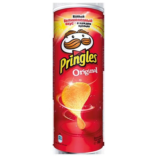 Чiпси Pringles Оригiнал 165г
