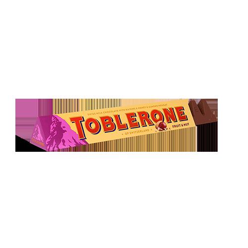 Шоколад Toblerone Fruit and Nut 100г
