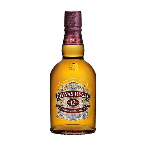 Віскі Chivas Regal 12 р 0,5л коробка