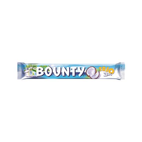 Шоколадний батончик Bounty Trio 85г