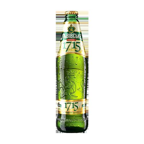 Пиво Львівське 1715 0,45л