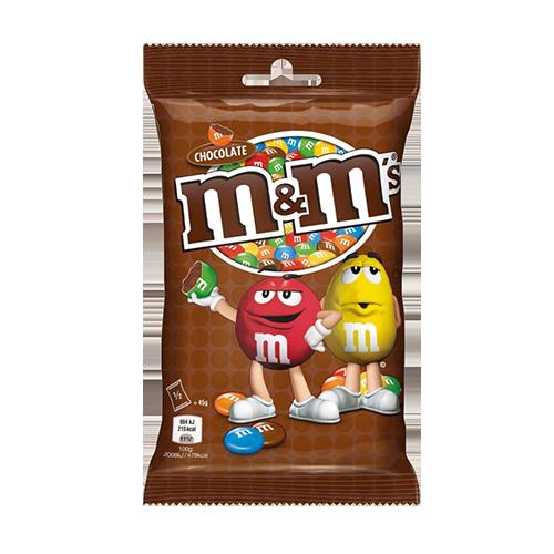 Драже М&М Молочний шоколад 90г