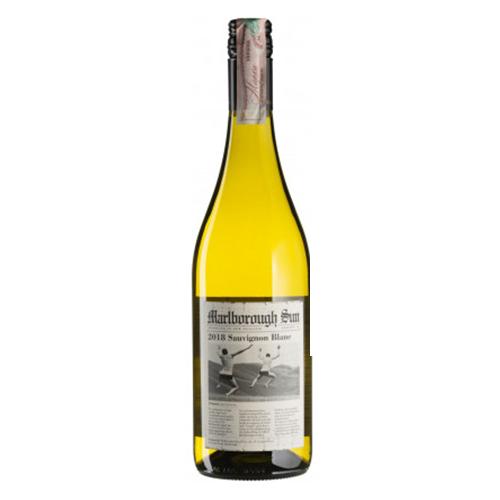 Вино Совiньйон Блан Мальборо Сан сухе бiле 0,75л