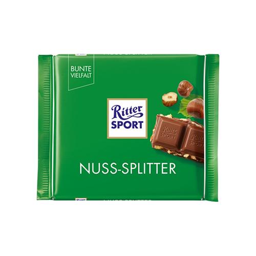 Шоколад Ritter Sport молочний з лісовим горіхом 100г