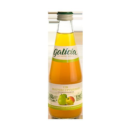 Сік Galicia Яблуко-Груша 0,3л